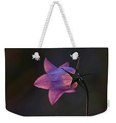 Glowing Sunset Flower Weekender Tote Bag