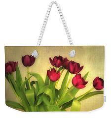 Glowing Tulips Weekender Tote Bag