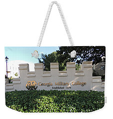 Weekender Tote Bag featuring the photograph Gmc Milledgeville by Aaron Martens