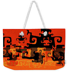 Gnarly Silhouette Parade Weekender Tote Bag