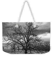 Weekender Tote Bag featuring the photograph Gnarly Tree by Sennie Pierson