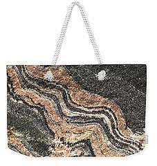Gneiss Rock  Weekender Tote Bag by Les Palenik