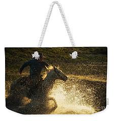 Go Cowboy Weekender Tote Bag by Ana V Ramirez