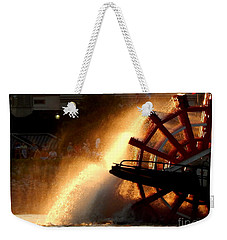 New Orleans Steamboat Natchez On The Mississippi River Weekender Tote Bag