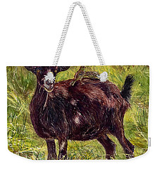 Goat Piggybackers Weekender Tote Bag