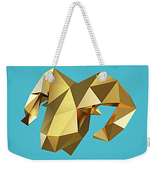 Goat Weekender Tote Bag by Pollyanna Illustration