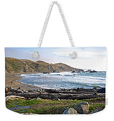Goat Rock State Beach On The Pacific Ocean Near Outlet Of Russian River-ca  Weekender Tote Bag by Ruth Hager