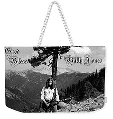 God Bless Billy Jones Weekender Tote Bag