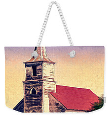 God Is Weekender Tote Bag by Dominic Piperata