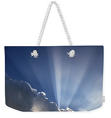 God Rays Weekender Tote Bag