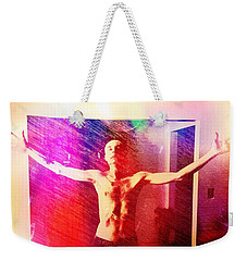 God Strong Weekender Tote Bag by Michael  TMAD Finney