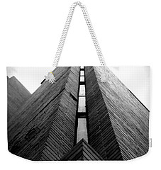 Goddard Stair Tower - Black And White Weekender Tote Bag