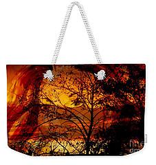 Goddess At Sunset Weekender Tote Bag
