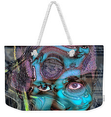 Weekender Tote Bag featuring the photograph Goddess Of Love And Confusion by Richard Thomas