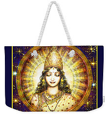 Goddess Of Stars Weekender Tote Bag
