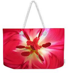 God's Floral Canvas 2 Weekender Tote Bag