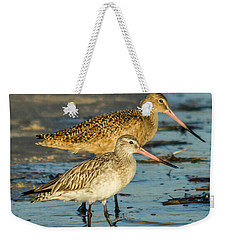 Godwits Weekender Tote Bag by Jane Luxton