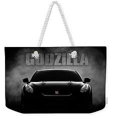 Godzilla Weekender Tote Bag by Douglas Pittman