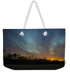 Weekender Tote Bag featuring the photograph Going Down II by Ben Shields
