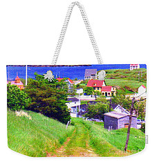 Going Down To Town Weekender Tote Bag