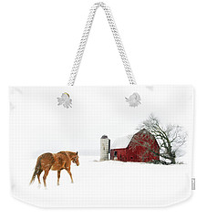 Going Home Weekender Tote Bag by Ann Lauwers