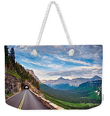 Going To The Sun Weekender Tote Bag