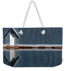 Weekender Tote Bag featuring the photograph Going Up Or Down by Jani Freimann