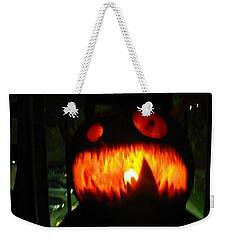 Going Up Pumpkin Weekender Tote Bag