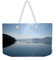 Weekender Tote Bag featuring the photograph Gokova Bay  by Tracey Harrington-Simpson