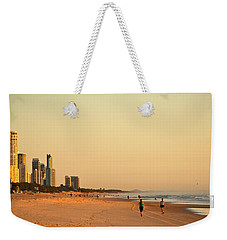 Weekender Tote Bag featuring the photograph Gold Coast Beach by Eric Tressler