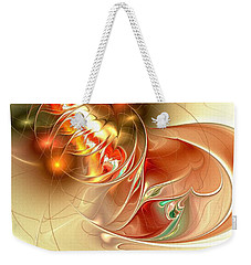Gold Fish Weekender Tote Bag