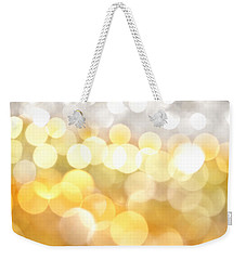 Gold On The Ceiling Weekender Tote Bag