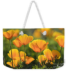 Gold Poppies Weekender Tote Bag