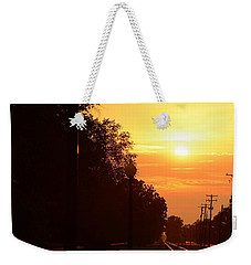 Golden Age Of Rails Weekender Tote Bag