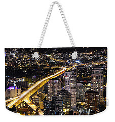Golden Artery - Mcdxxviii By Amyn Nasser Weekender Tote Bag by Amyn Nasser