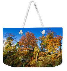 Golden Autumn On Neurathen Castle Weekender Tote Bag