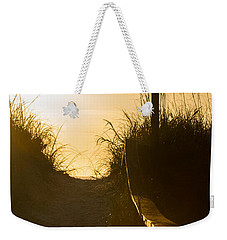 Golden Beach Access Weekender Tote Bag