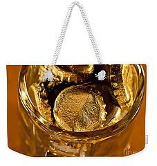 Golden Beer  Mug  Weekender Tote Bag by Wilma  Birdwell