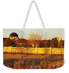 Golden Carmel Weekender Tote Bag