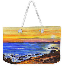 Golden Cove Weekender Tote Bag by Darren Robinson