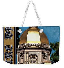 Golden Dome Weekender Tote Bag