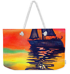 Golden Dreams Weekender Tote Bag