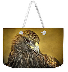 Golden Eagle Portrait Weekender Tote Bag
