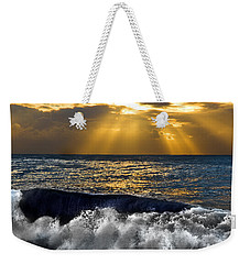 Golden Eye Of The Morning Weekender Tote Bag