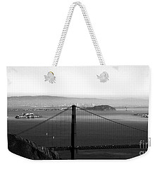 Golden Gate And Bay Bridges Weekender Tote Bag