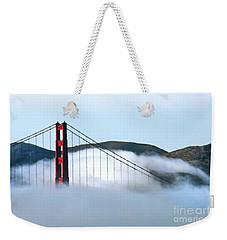 Golden Gate Bridge Clouds Weekender Tote Bag