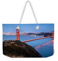 Golden Gate Bridge Weekender Tote Bag by Mihai Andritoiu