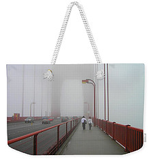G. G. Bridge Walking Weekender Tote Bag