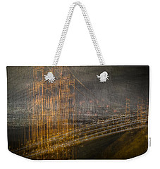 Golden Gate Chaos Weekender Tote Bag