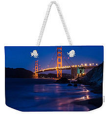 Golden Gate Glow Weekender Tote Bag
